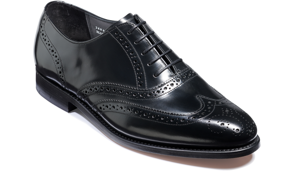 Chancery - Black Hi-Shine - Barker Shoes Rest of World