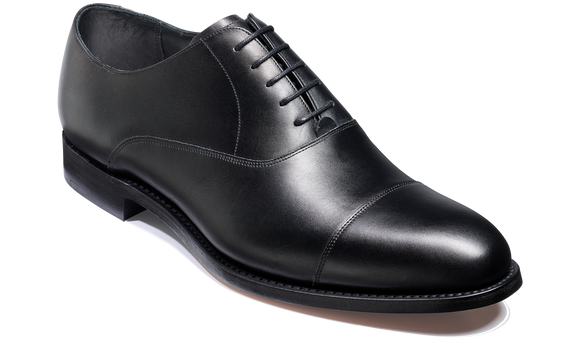 Bank - Black Calf - Barker Shoes Rest of World