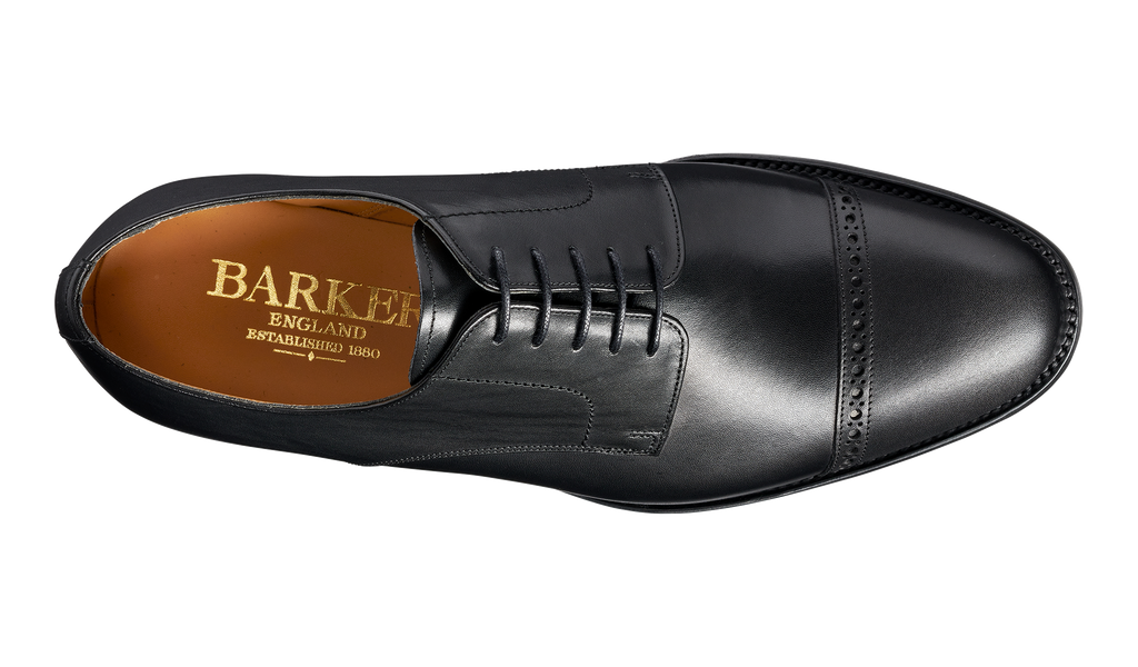 Angel - Black Calf - Barker Shoes Rest of World