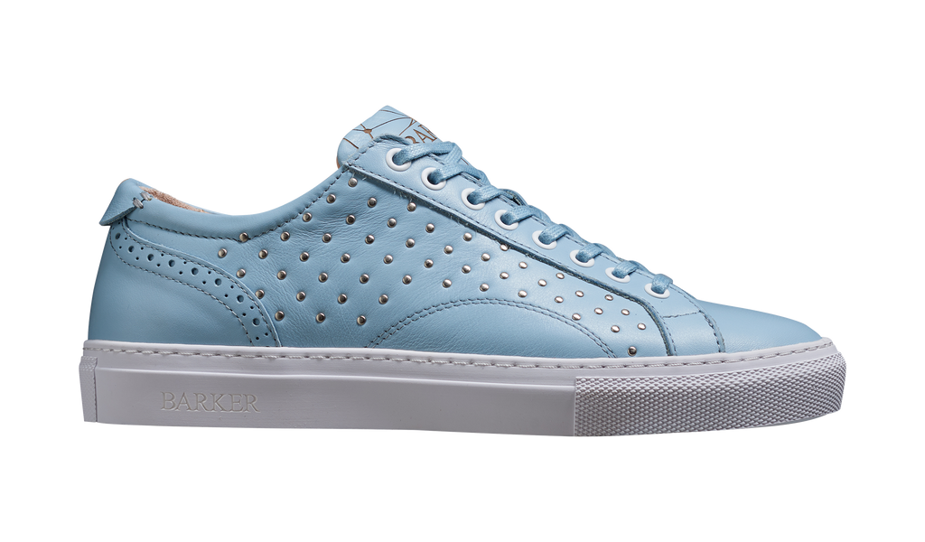 Isla - Pale Blue Calf / Studs