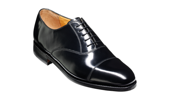 Arnold - Black Hi-Shine - Barker Shoes Rest of World