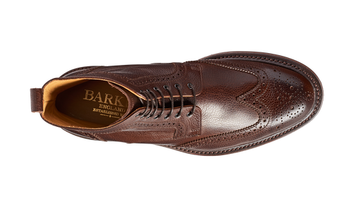 Calder - Dark Brown Grain - Barker Shoes Rest of World