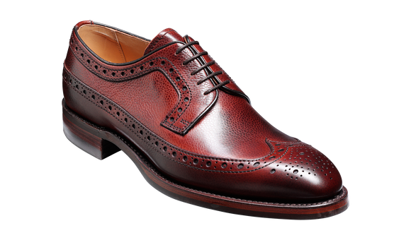 Calvay - Cherry Grain - Barker Shoes Rest of World