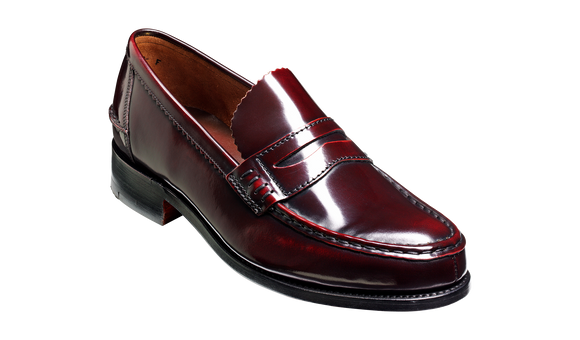 Caruso - Burgundy Hi-Shine - Barker Shoes Rest of World