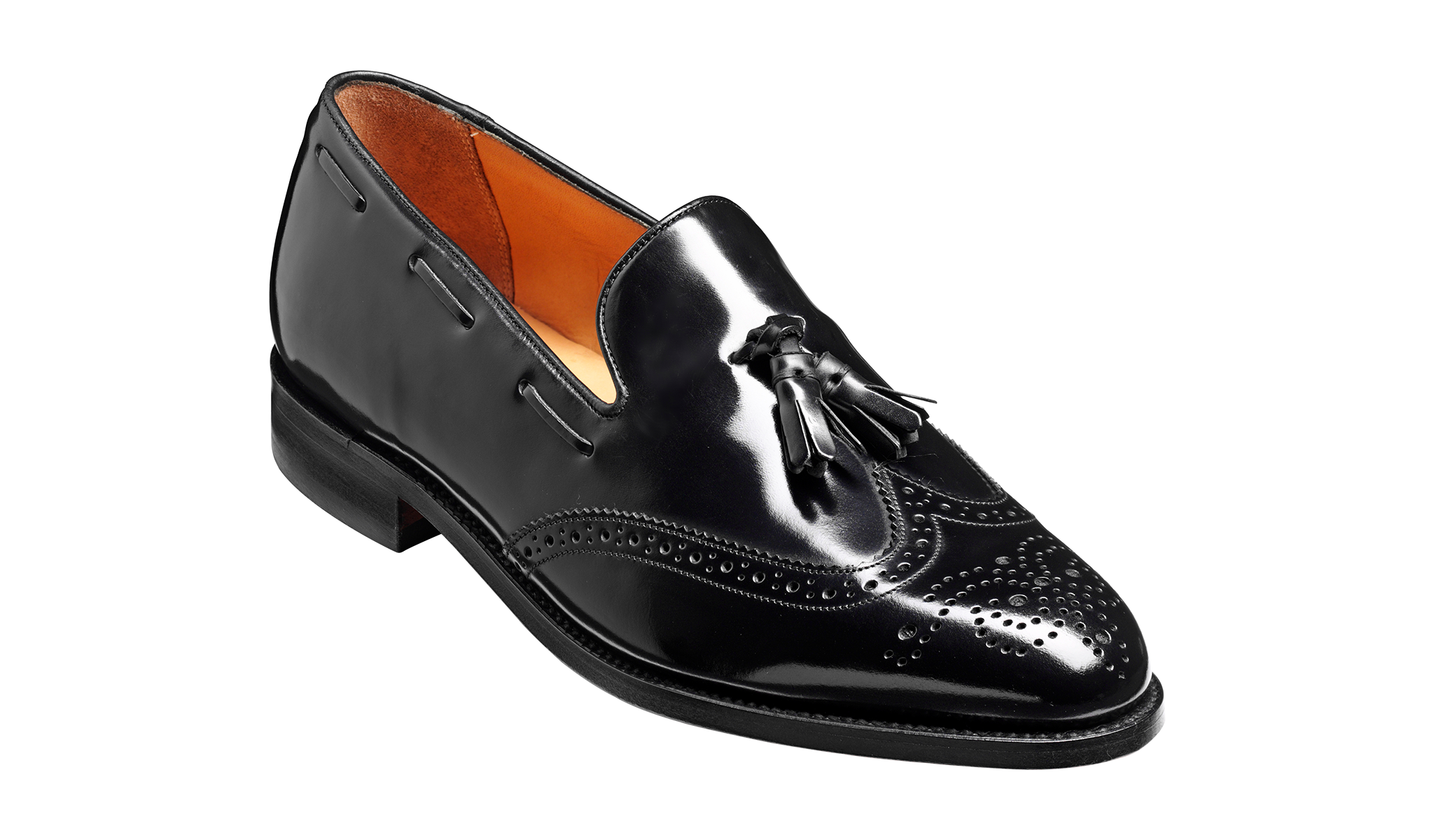 Clive - Men's black tassel loafer