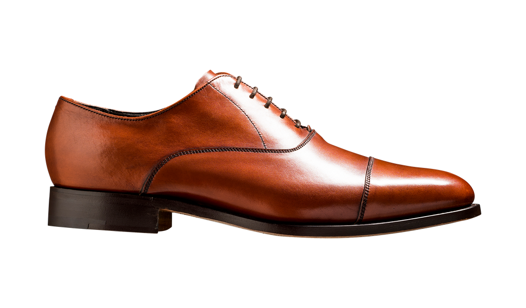 Duxford - Rosewood Calf - Barker Shoes Rest of World