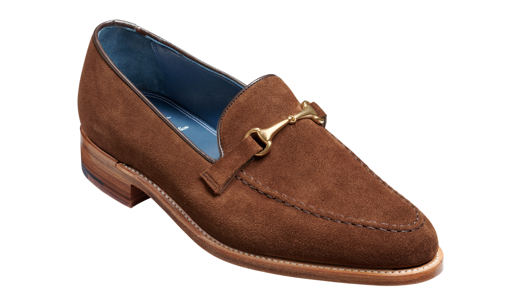 Frank - Castagnia Suede - Barker Shoes Rest of World