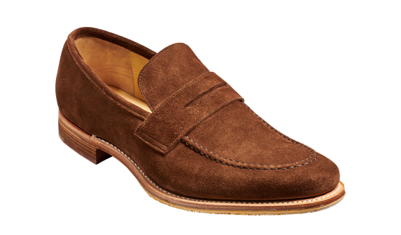 Gates - Castagnia Suede - Barker Shoes Rest of World
