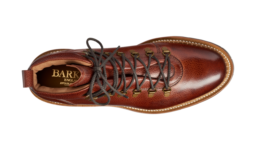 Glencoe - Cherry Grain - Barker Shoes Rest of World
