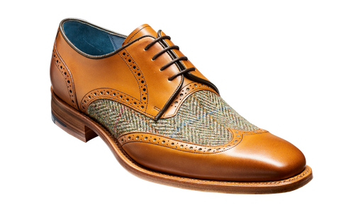 Jackson - Cedar Calf / Green Tweed