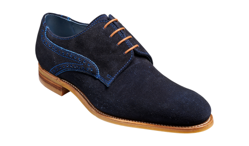 Mason - Navy Cut Through Suede