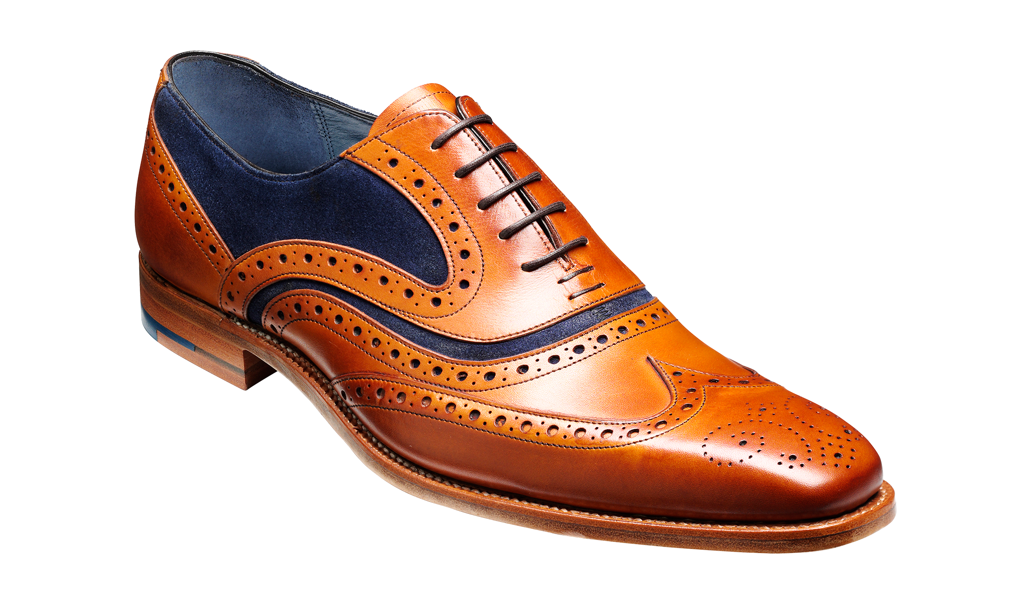 McClean - Men's leather brogue from Barker
