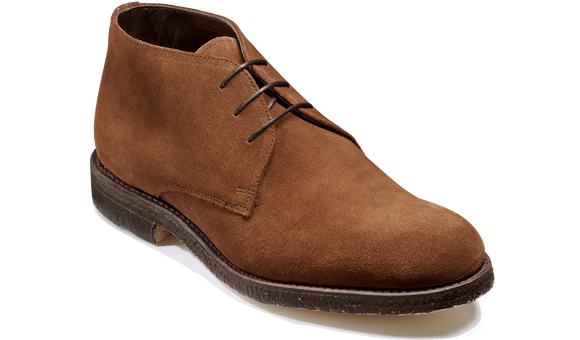 Navona - Castagnia Suede - Barker Shoes Rest of World