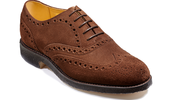 Padstow - Castagnia Suede - Barker Shoes Rest of World