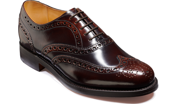 Padstow - Cognac Hi-Shine - Barker Shoes Rest of World