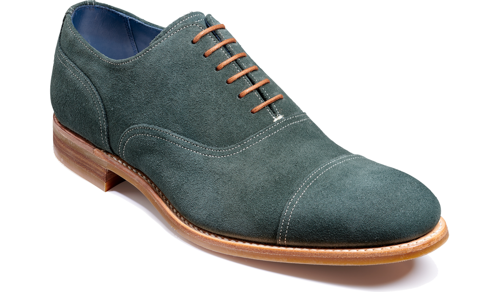Pullman - Bottle Green Suede