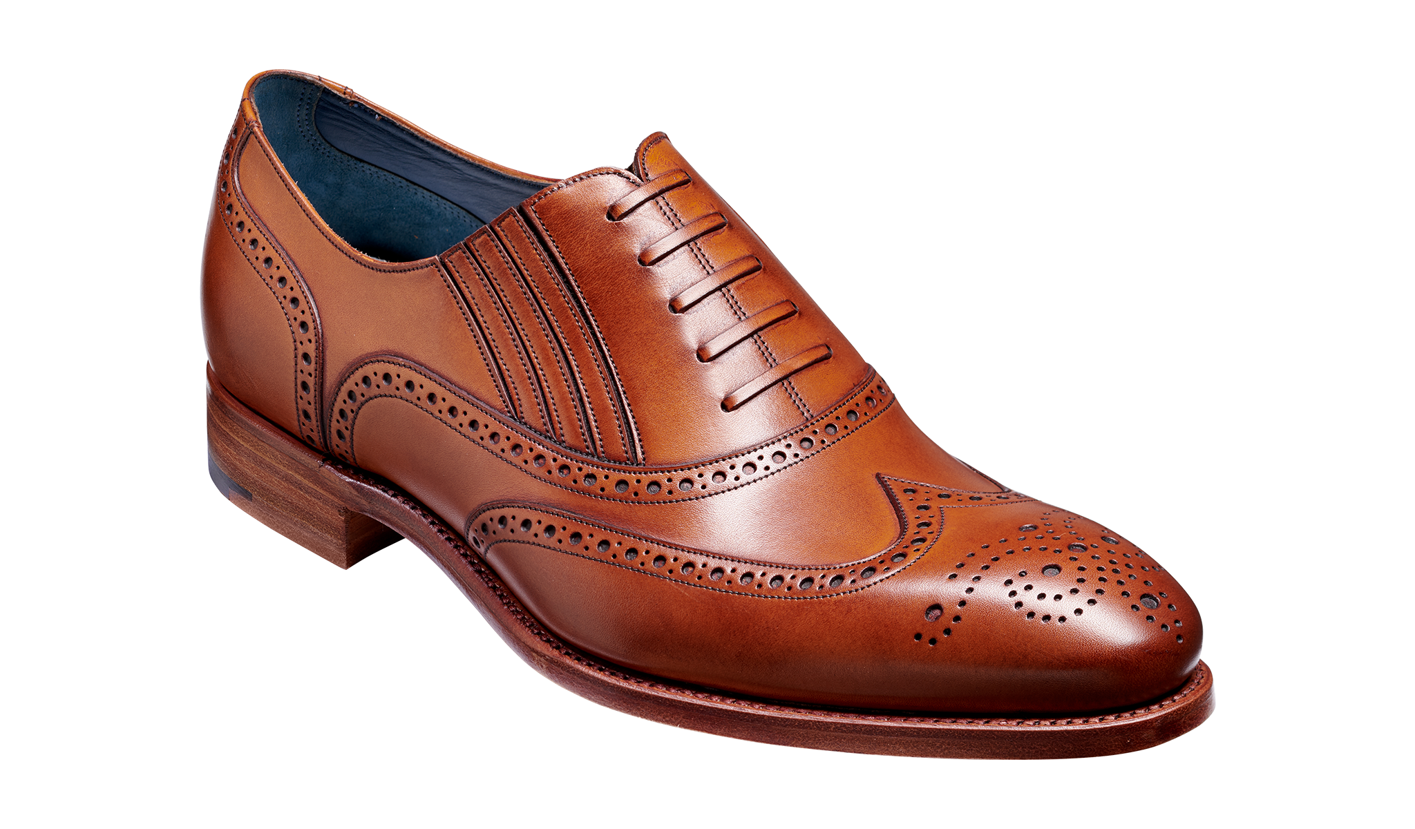 Timothy - A men's brogue by Barker Shoes.
