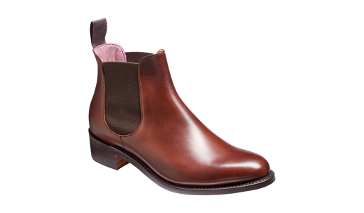 Violet - Walnut Calf / Brown Elastic