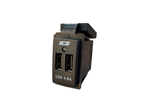 ICS 12/24V Dual USB 4.8A Charger