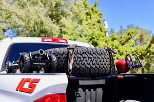 Load image into Gallery viewer, Toyota Tundra Spare Tire Carrier