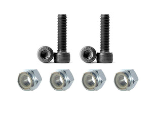 Load image into Gallery viewer, Stainless steel socket head Allen screws w/nylon lock nuts (pack of four)