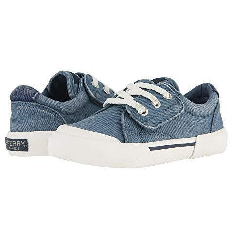 Sperry Kids/Junior's Stripper Blue - au-pied-sportif