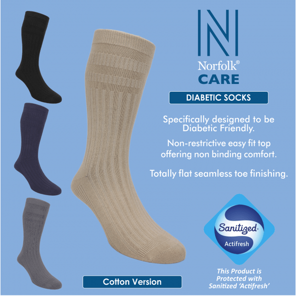 Norfolk Care Diabetic Socks - au-pied-sportif