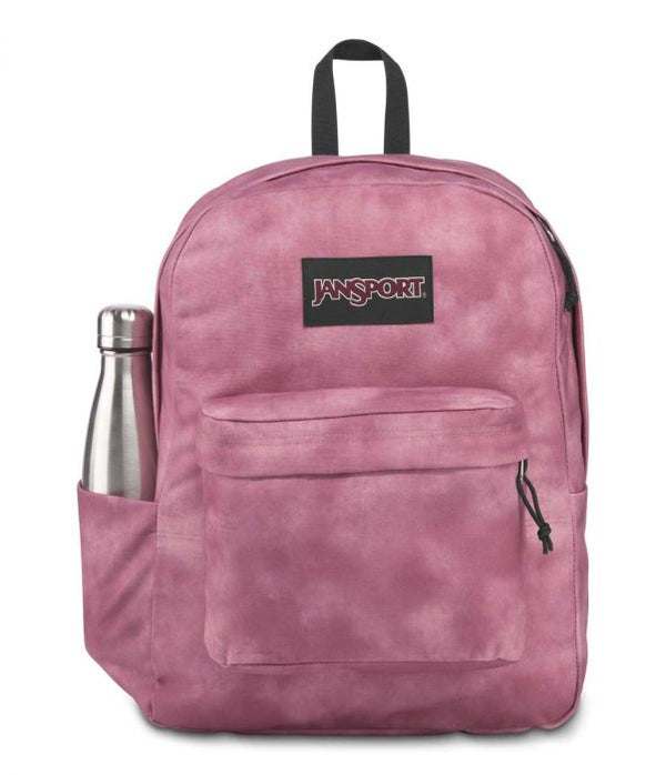 Jansport SUPERBREAK® PLUS FX BACKPACK IN BLACKBERRY MOUSSE CALI WASH 26L