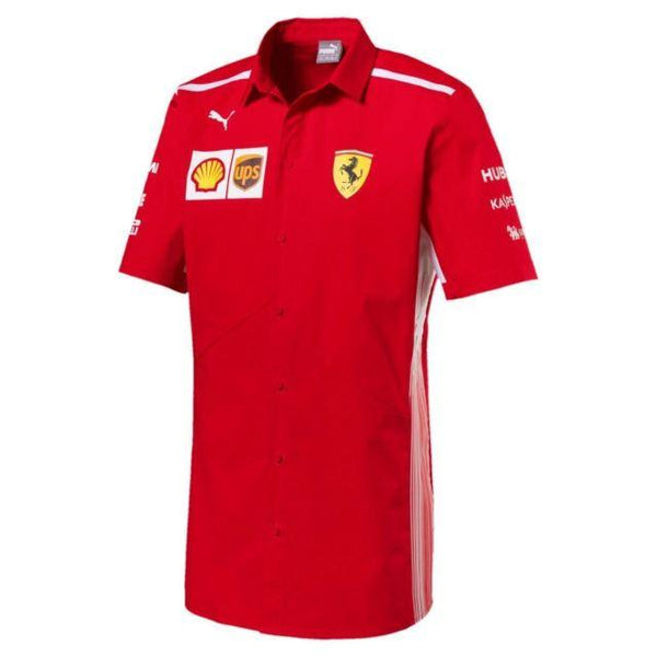 Puma Ferrari Men's Team Polo - au-pied-sportif