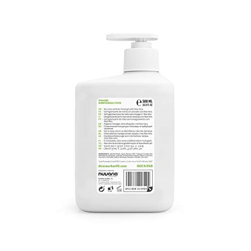 Dicora Urban Fit® Hand Sanitizer Gel Aloe Vera 500Ml
