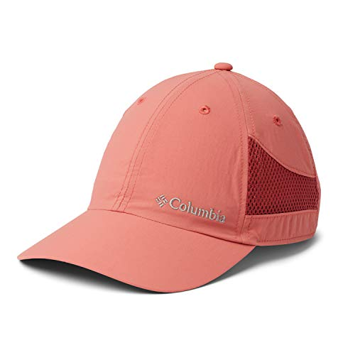 Columbia Tech Shade Hat Gorra, Unisex Adulto, Rosa (Dark Coral), One Size (Adjustable)
