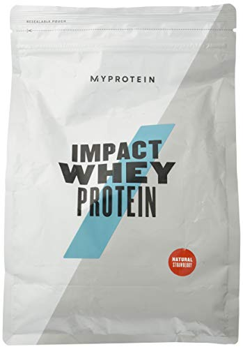 Myprotein Impact Whey Protein, 1 kg, Natural Strawberry
