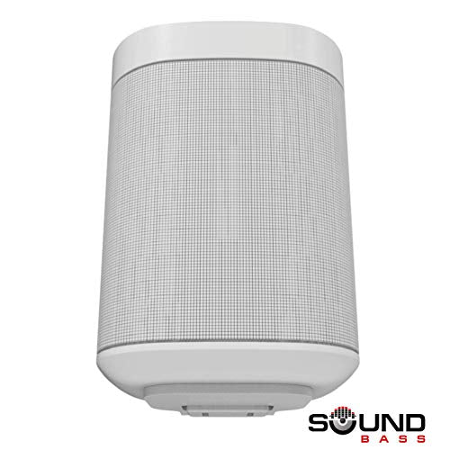 One, One SL & Play:1 Soporte de Montaje en Pared, Blanco, Compatible con los Altavoces One & PLAY1 de Sonos