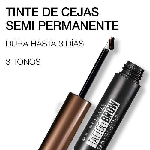 Maybelline New York, Tinte de Cejas Semi-permanente, Medium Brown 2, 4.6 ml