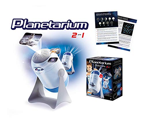 Buki France-7250 Planetario 2 En 1, Color (7250)