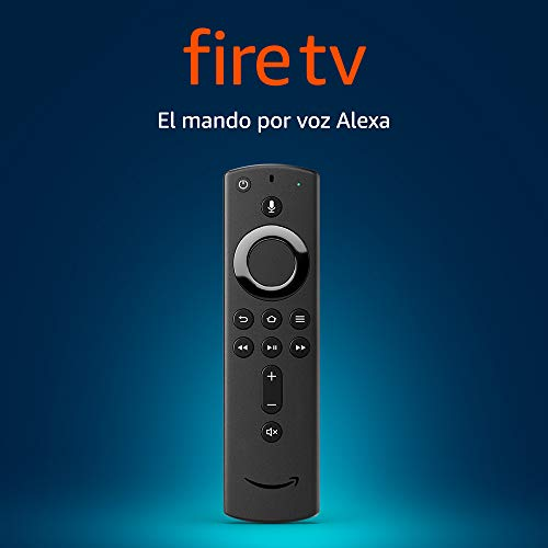 Mando por voz Alexa para el Fire TV, con controles de encendido y volumen, requiere un dispositivo Fire TV compatible