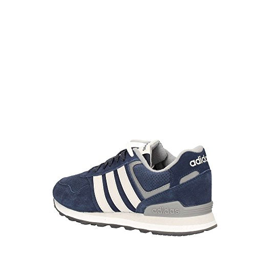 adidas 10K, Zapatillas de Gimnasia Hombre, Azul (Collegiate Navy/Grey One F17/Grey Three F17), 40 2/3 EU
