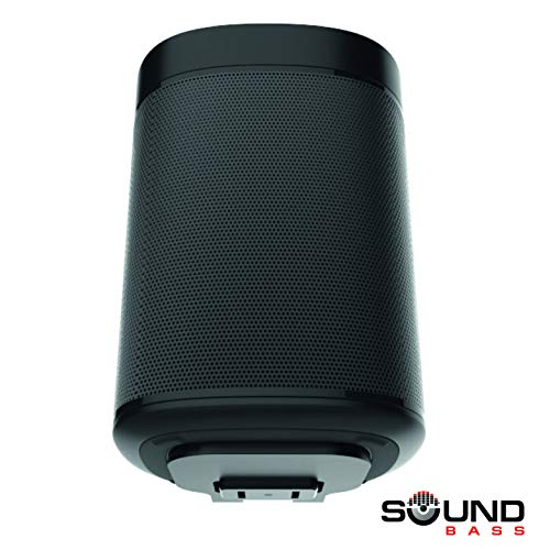 One, One SL & Play:1 Soporte de Montaje en Pared, Negro, Compatible con los Altavoces Sonos One & PLAY1