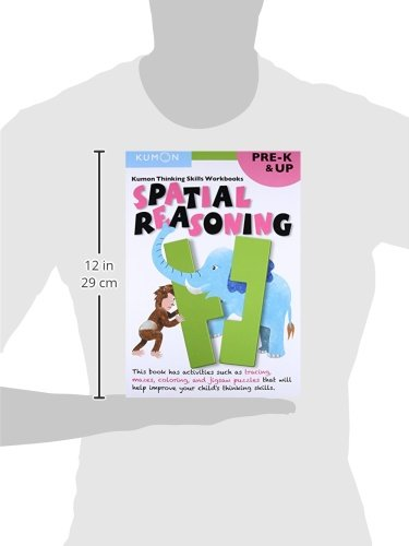 Thinking Skills Spatial Reasoning Pre-K (Kumon Thinking Skills Workbook)