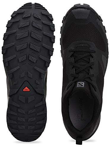 Salomon XA COLLIDER, Zapatillas de Trail Running Hombre, Color: Negro (Black/Ebony/Black), 40 EU