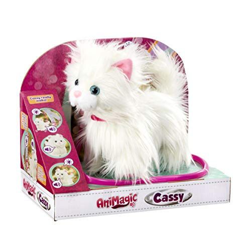 Goliath Toys- Animagic Cassy - Gato, Color carbón (256.607) , color/modelo surtido