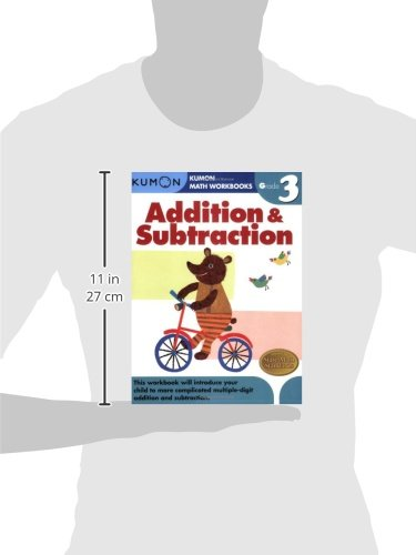 WORKBK-ADDITION & SUBTRA-GRD 3 (Kumon Math Workbooks)