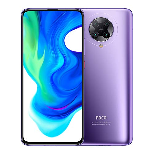 "Xiaomi Poco F2 Pro - Smartphone de 6.67"" (5 G Super AMOLED Screen, 1082 x 2400 pixels, Qualcomm SM 8250 Snapdragon 865, 4700 mAh, Quad Camera, 8 K Video, 6 GB/128 GB RAM), Electric Purple [EU version]"