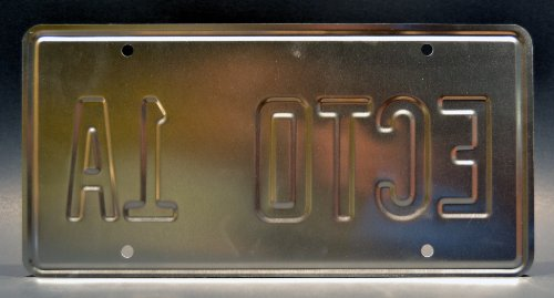 Ghostbusters 2 | ECTO-1A | Metal Stamped License Plate