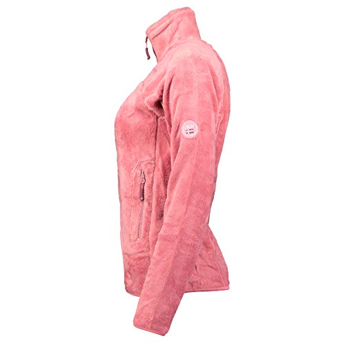 Geographical Norway, Upaline, Chaqueta polar para mujer, rosa, S