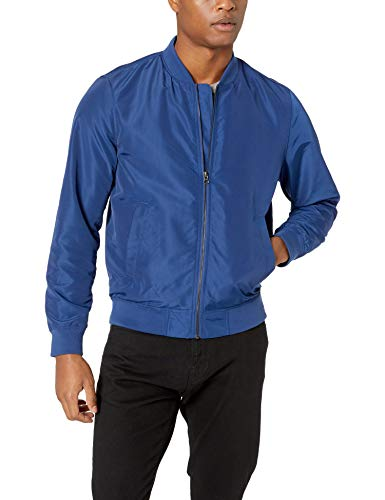 Amazon Essentials - Cazadora ligera para hombre, Azul, US XXL (EU XXXL - 4XL)