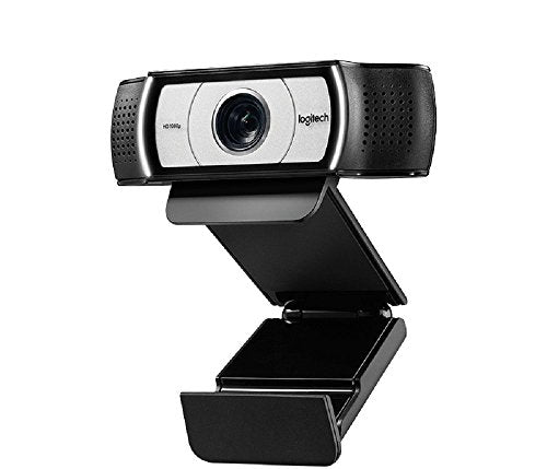 Logitech C930e Business Webcam, Video-Llamadas Full HD 1080p/30fps, Corrección y Enfoque Automáticos, Zoom 4X, Tapa de Privacidad, Skype Business, WebEx, Lync, Cisco, PC/Mac/Portátil/Macbook/Chrome