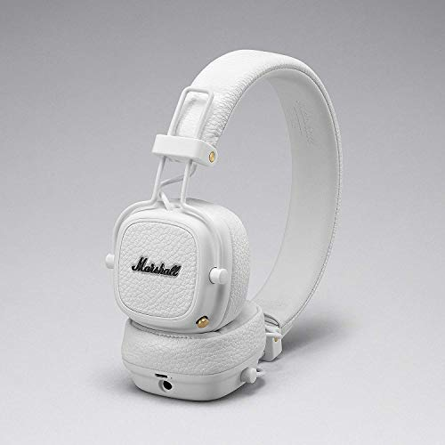 Marshall Major III Auriculares Bluetooth Plegables -Blanco
