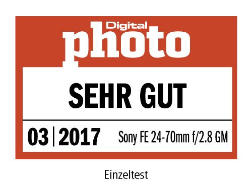 Sony SEL2470GM FE 24-70mm f/2.8 GM - Objetivo, Full-Frame, Rango medio, Zoom