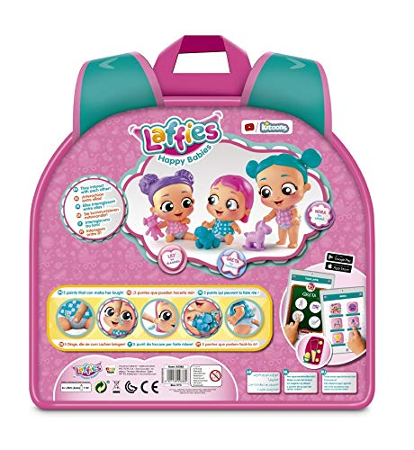 IMC Toys- Laffies Happy Babies Greta Y Snaffy (93362)